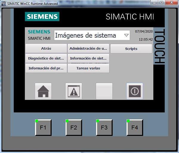No funciona simulador TIA Portal para la HMI en TIA 15