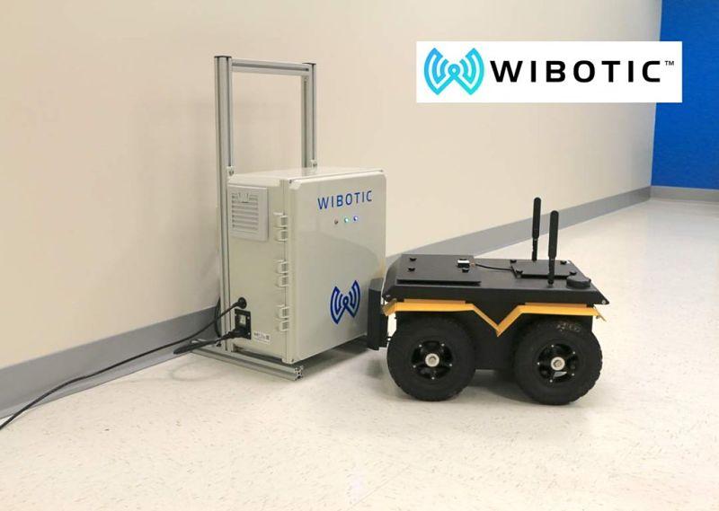 Carga inalámbrica para robots móviles sin necesidad de contacto por cables