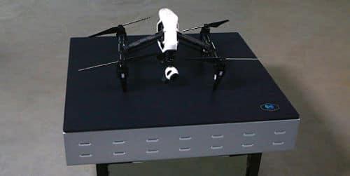 Carga inalámbrica para robots utilizada en drones