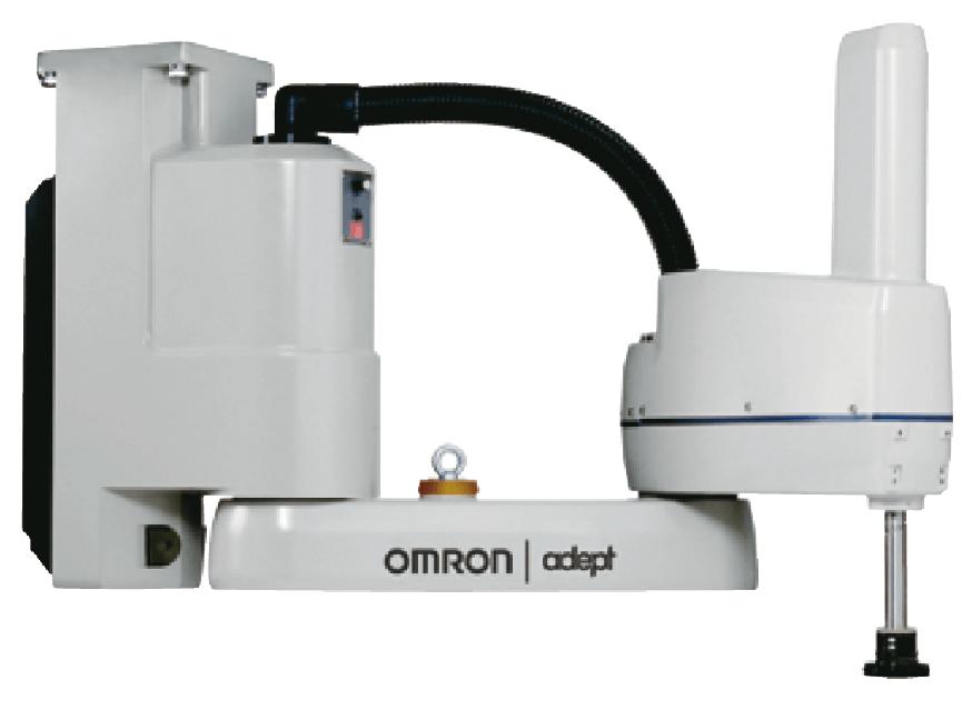 Robot Omron para fabricación de test Covid-19.
