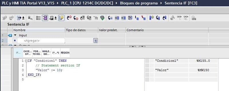 Si se activa la variable se sigue leyendo en el código SCL