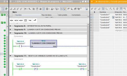 FC TIA Portal variables se quedan activadas al salir del FC