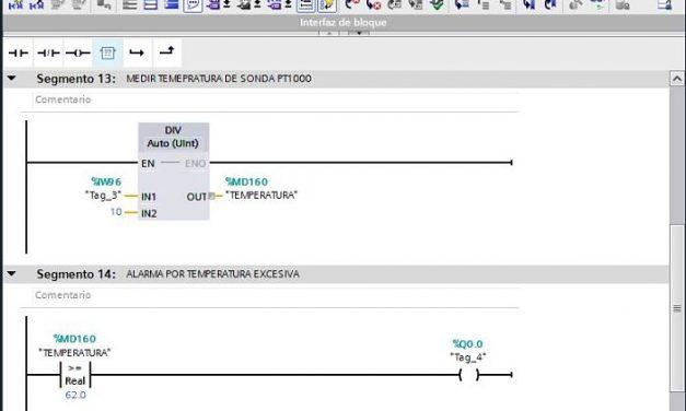 Medir temperatura en PLC S71200 módulo RTD y termorresistencia