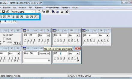 PLCSIM Step7 funcionamiento, errores y transferir bloques