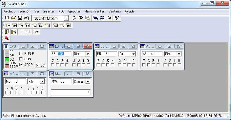 Simulador Step7 cómo activar PLCSIM y configura comunicación