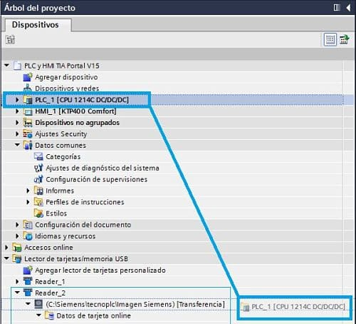 Grabar programa TIA Portal PLC en carpeta ¿sabes hacerlo?