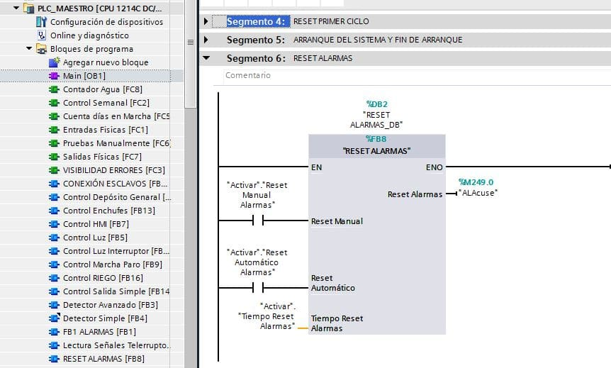 Programación con ejemplos reales en PLC y HMI en tecnoplc