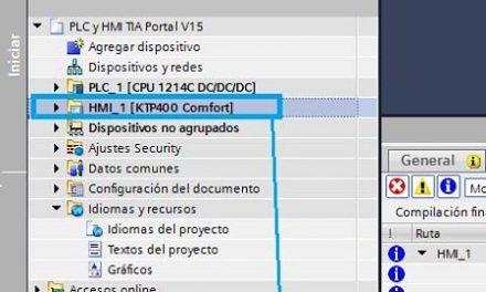 LOAD Project TIA Portal qué es y cómo hacer en HMI paso paso