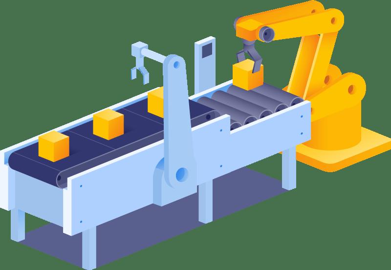 tecnoplc ejemplos con robots